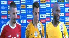 صحبت های بازیکنان فلسطین - استرالیا پس از بازی