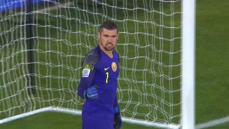 پنالتی های بازی استرالیا - ازبکستان
