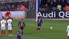 گل اول بارسلونا به سویا (کوتینیو-پنالتی)