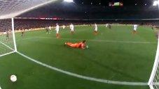 گل چهارم بارسلونا به سویا(سرجی روبرتو)