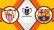 خلاصه بازی بارسلونا 6 - سویا 1 (دبل کوتینیو)