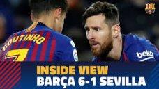 پشت صحنه بازی بارسلونا - سویا (کوپا دل ری)