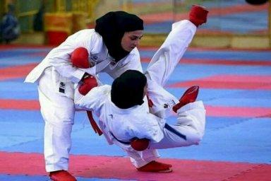 قهرمانی بانوان ایران در سبک شوتوکان کاراته