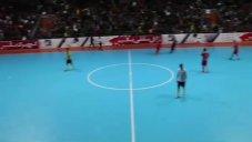 ۵ گل گیتیپسند مقابل ملیحفاری اهواز در نیمه نهایی لیگ برتر فوتسال