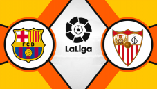 خلاصه بازی سویا 2 - بارسلونا 4 (هتریکمسی)