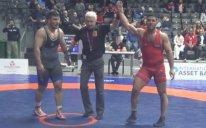 پیروزی رضایزدانی در یک چهارم نهایی(دانکلوف بلغارستان)