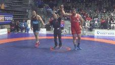 پیروزی پرویز هادی برابر حریف چینی(دانکلوف بلغارستان)