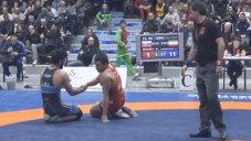 پیروزی قاطع حسن یزدانی و صعود به فینال (دانکلوف بلغارستان)