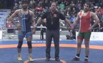 قهرمانی حسنیزدانی در وزن 86 کیلوگرم (دانکلوفبلغارستان)