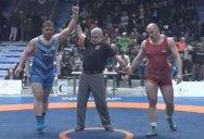 قهرمانی پرویزهادی در وزن 125کیلوگرم (دانکلوفبلغارستان)