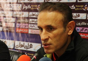 کنفرانس خبری گلمحمدی قبل از بازی ماشینسازی- پدیده