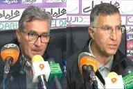 کنفرانس خبری پس از بازی نساجی مازندران - پرسپولیس