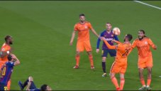 گل اول لیون به بارسلونا توسط توسارت