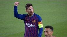 گل سوم بارسلونا به لیون (دبلمسی)