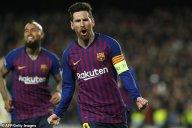 گل اول بارسلونا به بتیس با کاشته تماشایی مسی