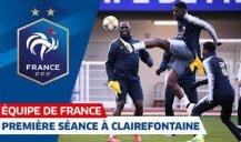 تمرینات تیم ملی فرانسه (29-12-97)