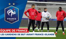 تمرین بازیکنان تیم ملی فرانسه (05-01-98)