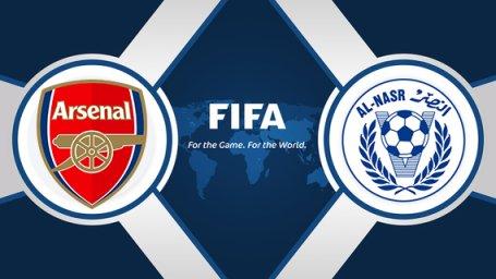 خلاصه بازی النصر امارات 2 - آرسنال 3