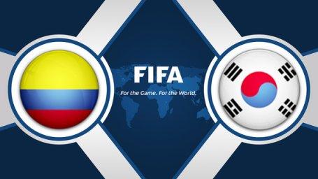 خلاصه بازی کره جنوبی 2 - کلمبیا 1