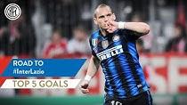 5 گل برتر تقابل لاتزیو - اینتر در تاریخ سری آ