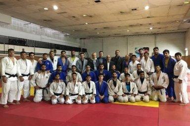 تمرینات تیم ملی جودو قبل از اعزام به مسابقات قهرمانی آسیایی