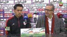 کنفرانس خبری بعد از بازی استقلال خوزستان - تراکتورسازی
