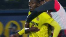 گل دوم ویارئال به بارسلونا توسط اکامبی