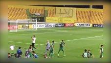 قدردانی علیرضا منصوریان و بازیکنان ذوب آهن از هواداران خود