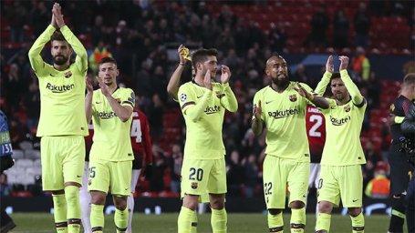 ترکیب اصلی بارسلونا و یونایتد اعلام شد