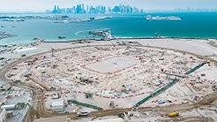 استادیوم رأس ابوعبود قطر در حال ساخت برای جام جهانی 2022