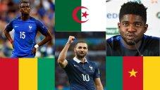 بازیکنان چند ملیتی تیم ملی فرانسه