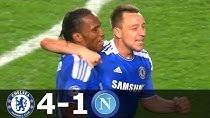 بازی خاطره انگیز چلسی - ناپولی در فصل 12-2011