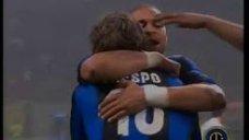 برد خاطره انگیز چهار بر 1 آ اس رم مقابل اینتر در فصل 04-2003