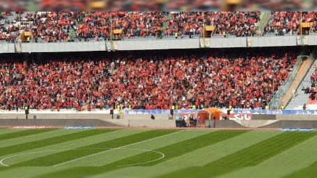 حال و هوای استادیوم آزادی دو ساعت قبل از بازی