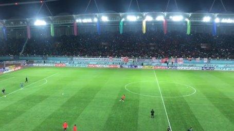 حالوهوای ورزشگاه امام رضا قبل از شروع بازی