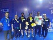 چین قهرمان آسیا شد، وزنهبرداری ایران نایبقهرمان