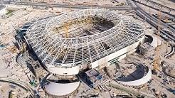 پیشرفت ورزشگاه الریان برای جام جهانی 2022