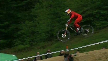 لحظات جذاب مسابقات جهانی دوچرخه کوهستان