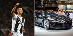 اخبار کوتاه؛ خرید ماشین لوکس و فوق العاده توسط رونالدو