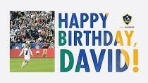 تبریک باشگاه لس آنجلس گلکسی بمناسبت تولد دیوید بکهام