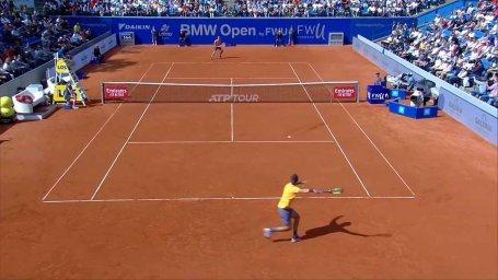 رالی فوق العاده در تنیس