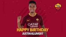 تبریک تولد جاستین کلایورت توسط باشگاه آ اس رم
