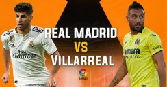 خلاصه بازی رئال مادرید 3 - ویارئال 2