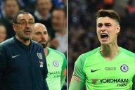 صحبتهای ساری و کپا پس از صعود چلسی به فینال لیگ اروپا 2019