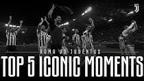 5 لحظه برتر تقابل یوونتوس - آ اس رم