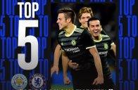 5 گل برتر چلسی برابر لسترسیتی