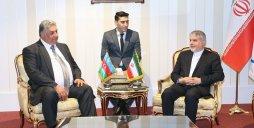 دیدار وزیر ورزش آذربایجان با صالحیامیری و سلطانیفر