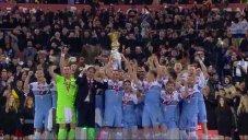 مراسم اهدای جام قهرمانی کوپا ایتالیا به تیم لاتزیو