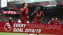 تمام گلهای لیورپول در لیگ برتر جزیره 19-2018