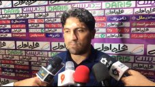 صحبتهای علوی بعد از آخرین بازی استقلال خوزستان